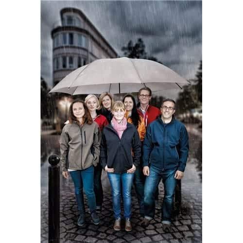 Image of   Bryllupsparaplyer 180 cm dækker nemt 5 personer - Gigantium
