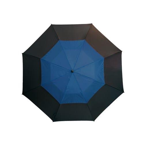 Image of   Golfparaply blå dobbelt skærm 132 cm - Herkules