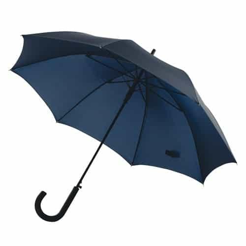 Image of   Blå paraply køb stor navy blå diameter 103 cm - Maggie