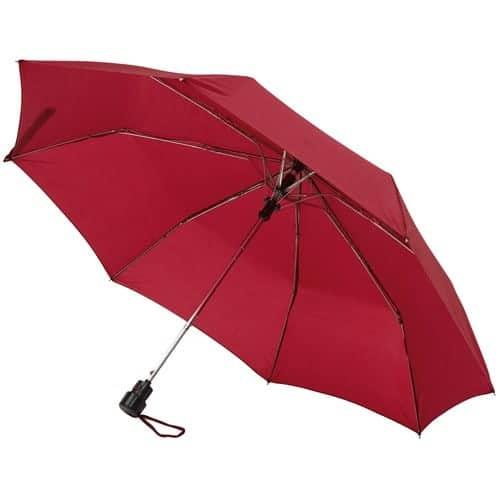 Image of   Billig rød taskeparaply i speciel farve - Sofia