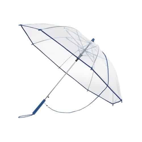Image of   Klar blå paraply - Automatisk paraply - Lucas