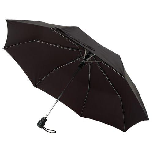 Image of Billig sort taskeparaply klassisk sort paraply - Sofia