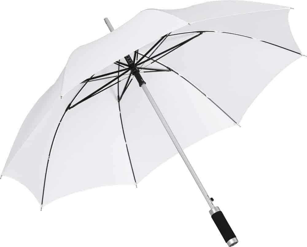 Image of   Find hvid paraply kun 139 kr diameter 105 cm - Philadelphia