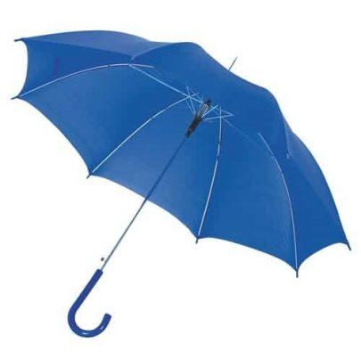 den blå paraply