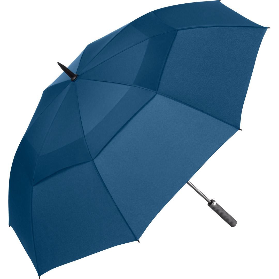 Image of   Blå golf paraply en rigtig luksus paraply - Nicholas