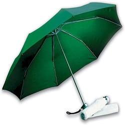 Image of   Billig grøn taskeparaply med stor skærm - Jackson