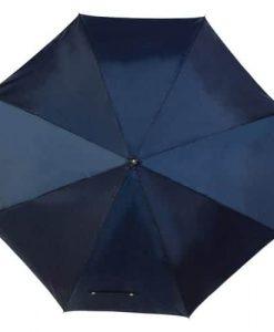 blå golfparaply