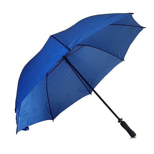 Image of   Kongeblå golf paraply med paraplyskærm på 125 cm - Jeannett