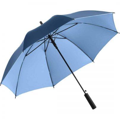 Lyse blå luksus paraply