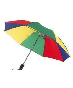 lille regnbue taskeparaply