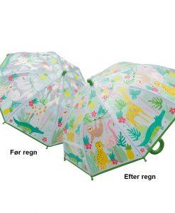 Børneparaply til pige