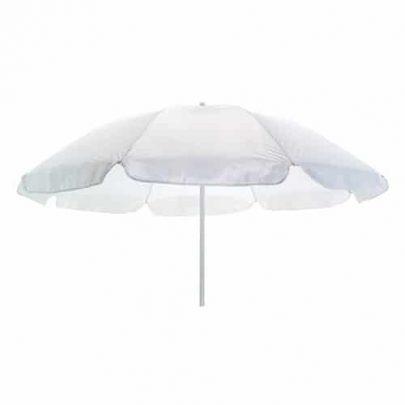 Billig parasol hvid