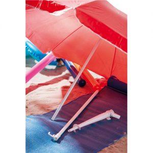billig parasol rød