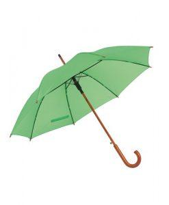 Lime grøn paraply