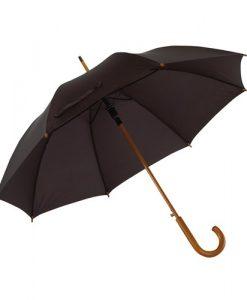 klassisk sort paraply