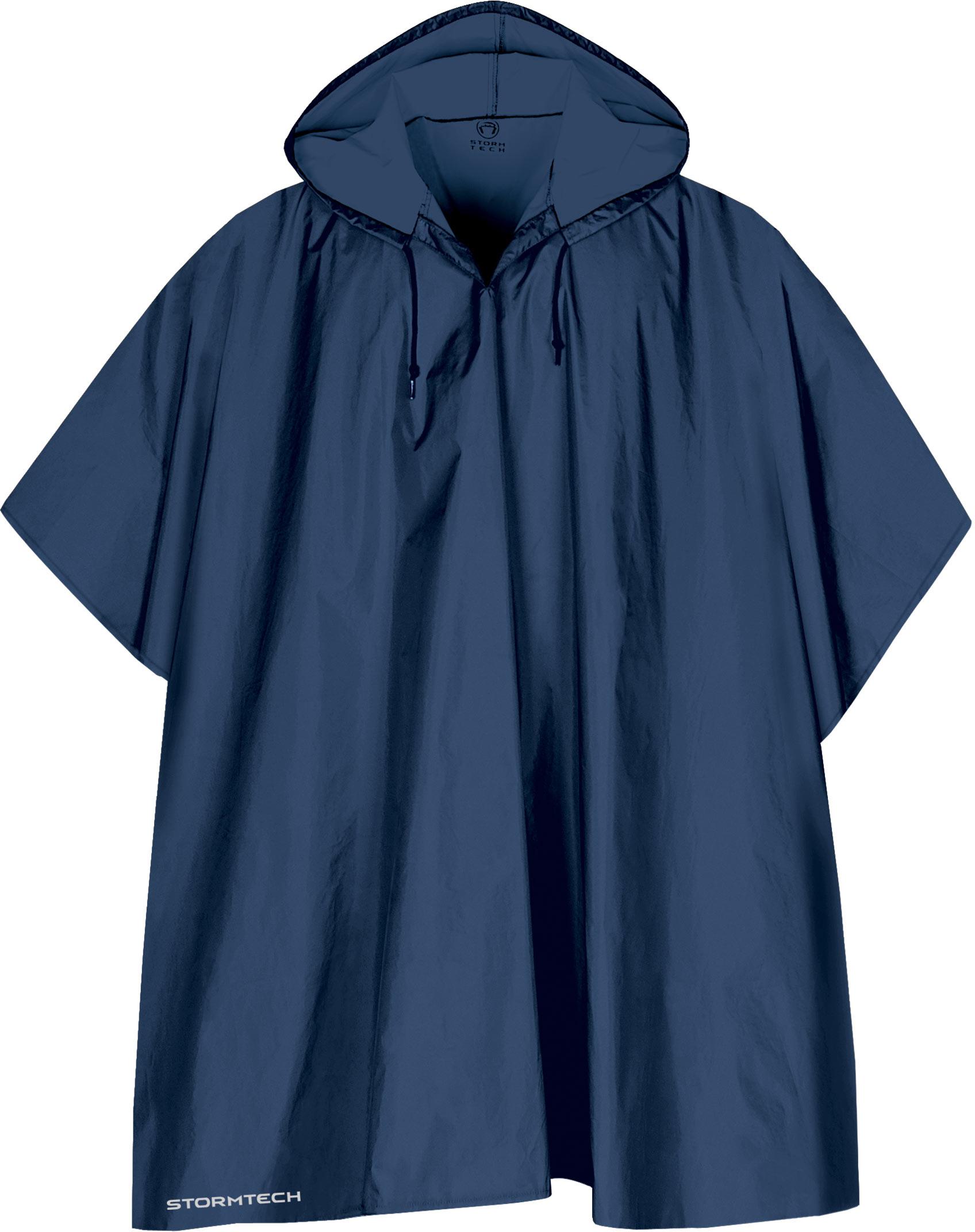 Stormtech poncho regnslag i navy blåt højkvalitets regnslag til voksne