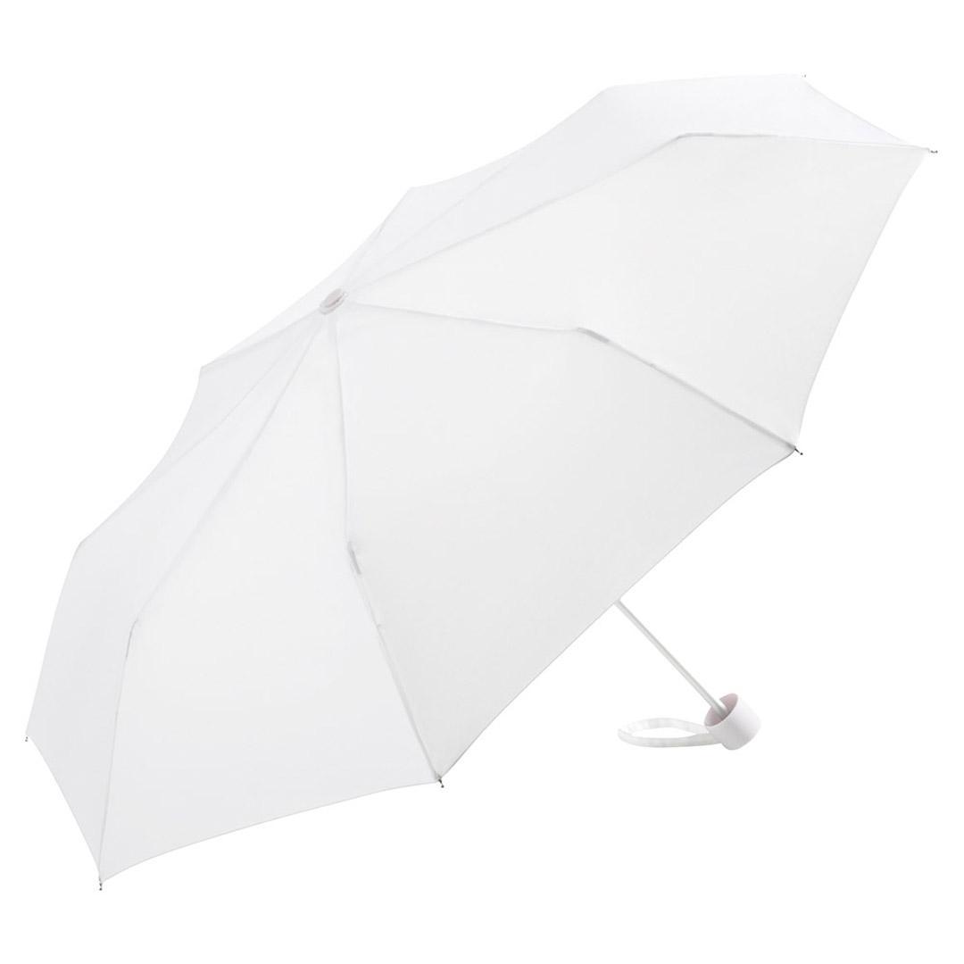 Image of   Hvide taskeparaplyer diameter på 90 cm vejer 170 gram - Karla