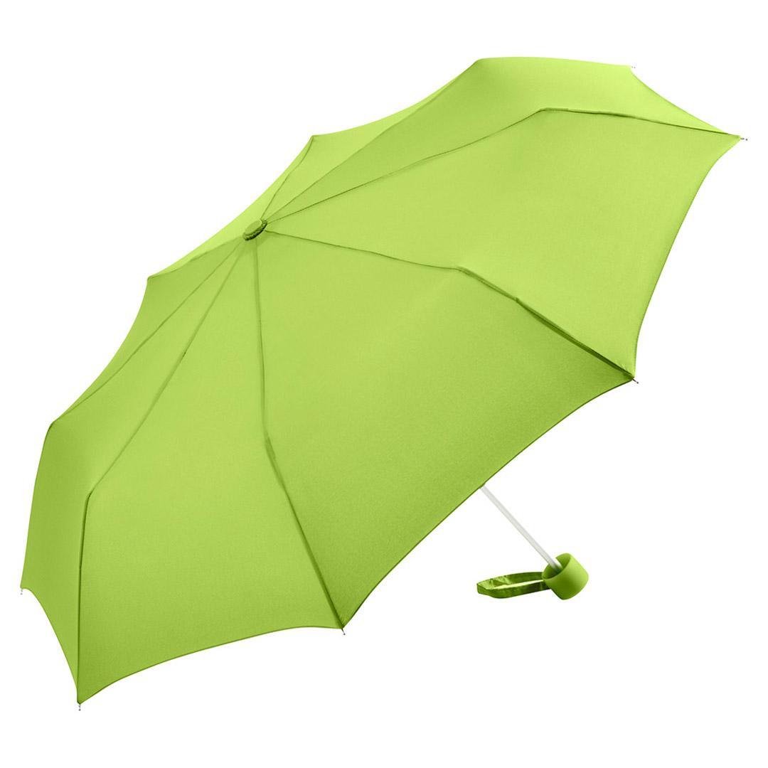 Image of   Billig taskeparaply grøn med stor skærm 90 cm - Karla