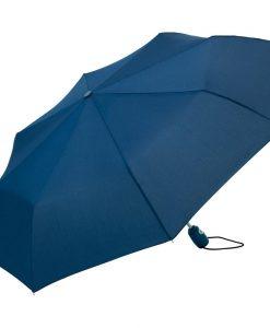 Navy blå taskeparaply