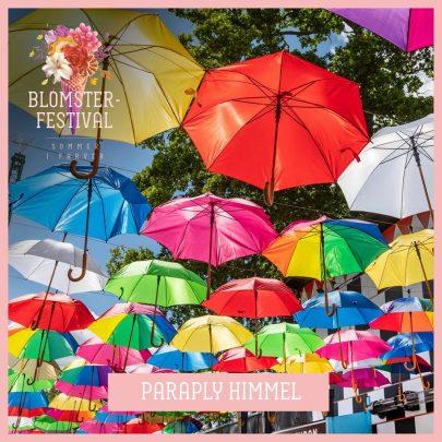 Tivoli paraply himmel