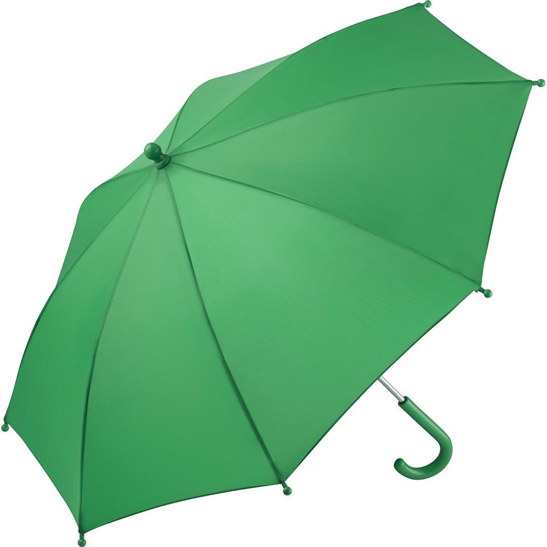 Image of   Grøn børneparaply køb 2 få gratis fragt - Malthe