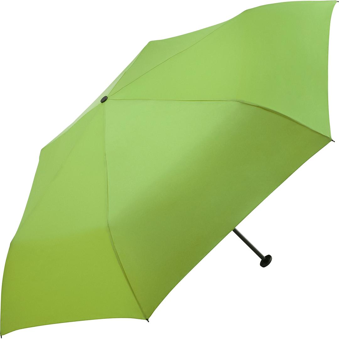 Image of Micro paraply lysegrøn kun 95 gram og 20 cm - Ultra let