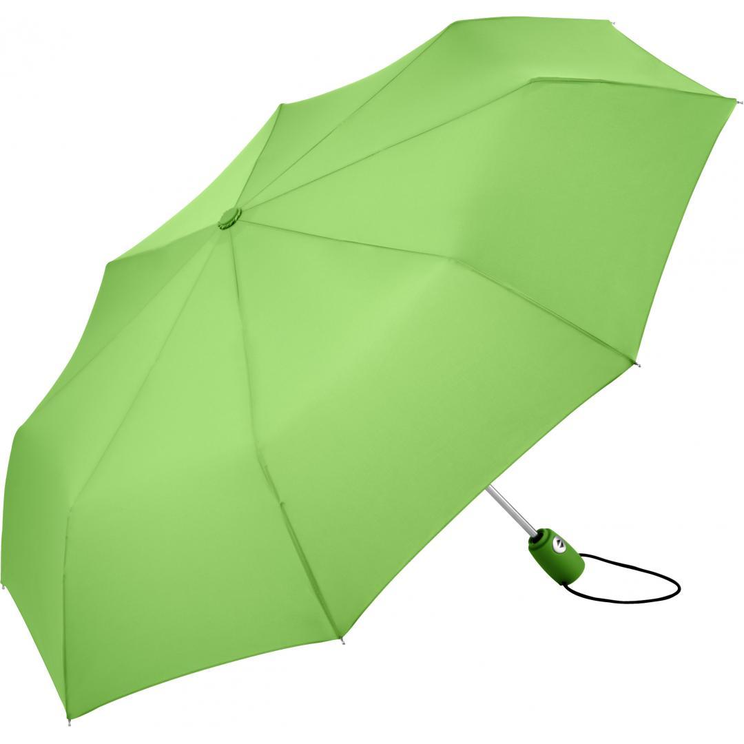 Image of Lyse grøn taskeparaply i 14 forskellige farve udgaver - Hugo