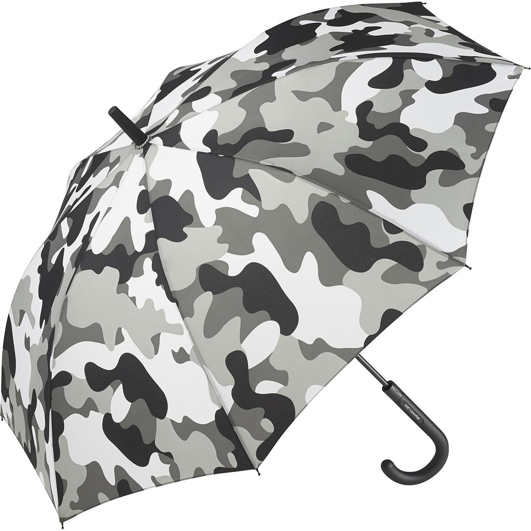 Image of   Grå camouflage paraply med gratis levering med GLS
