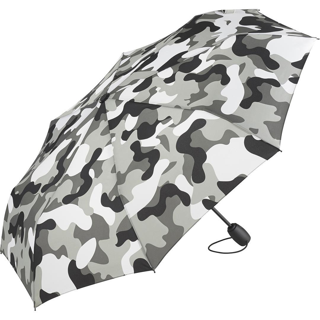 Image of   Grå camouflage taskeparaply gratis fragt med GLS