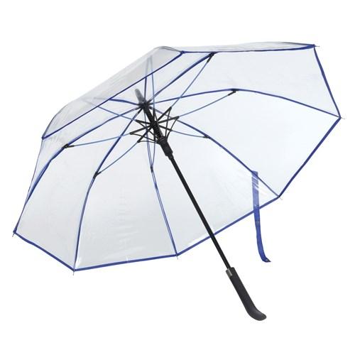 Image of   Blå gennemsigtig paraply med gratis GLS fragt - Tennessee