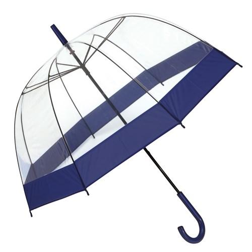 Image of   Klassisk retro paraply med ekstra buet skærm - Elias