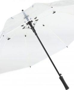 stor gennemsigtig paraply