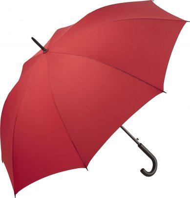 stor rød paraply