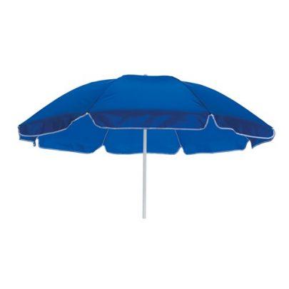 blå parasol