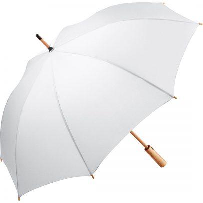 Miljøvenlig paraply hvid