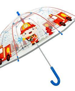 transparent børne paraply